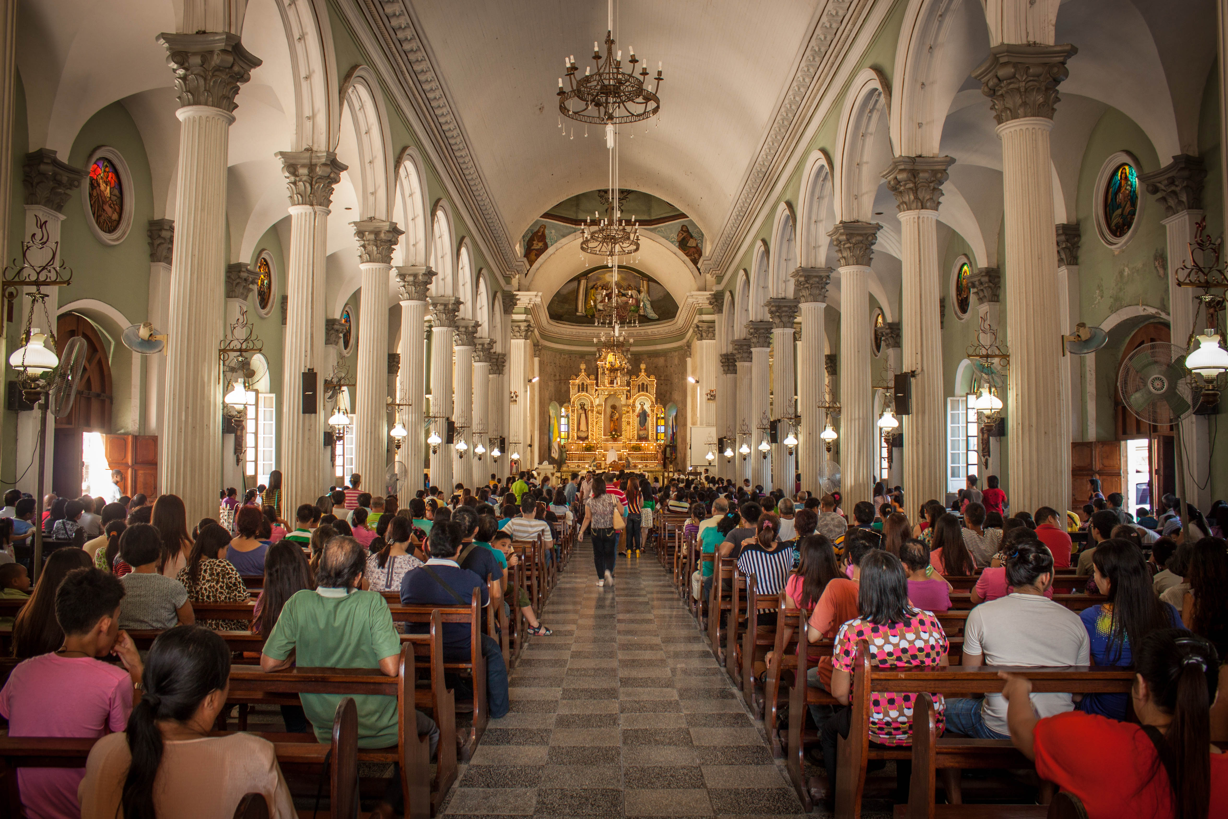 Inside Iloilo San Jose Church