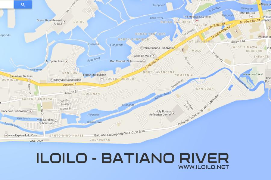 Iloilo City Google Map - Iloilo city map