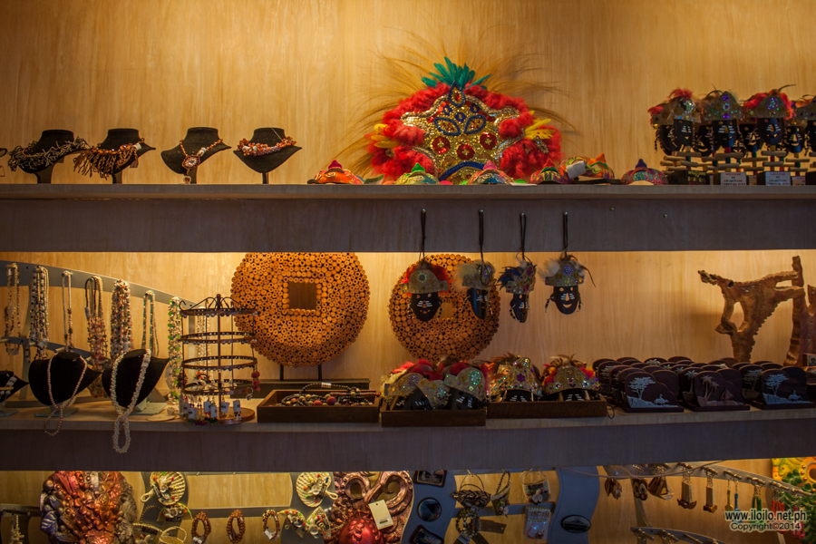 Assorted accessories inspired by different festivals in Iloilo