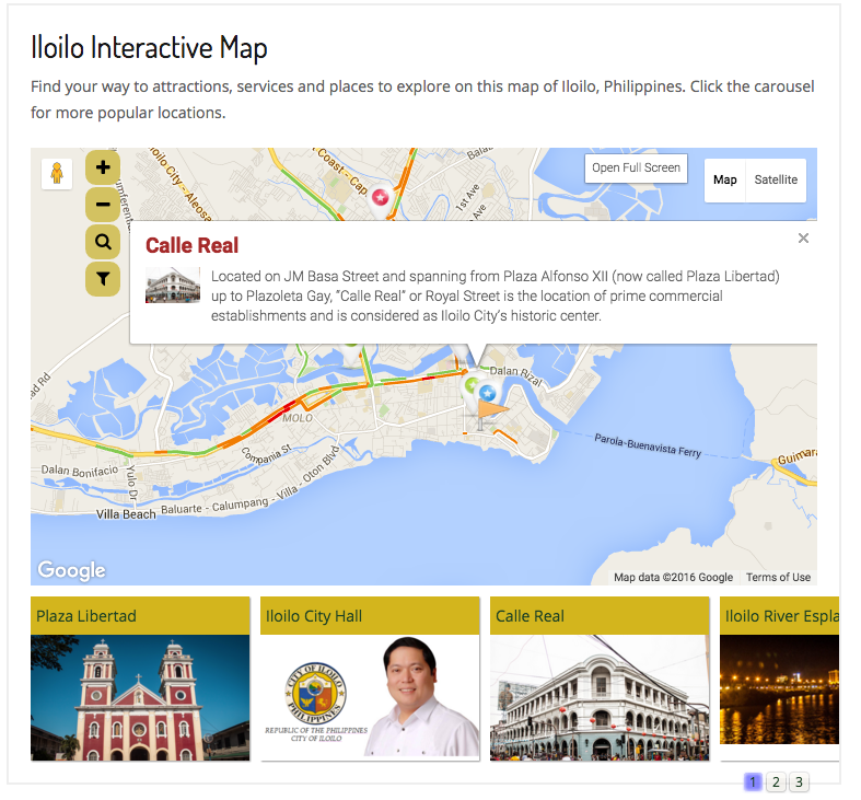 Maps Iloilonetph Iloilo Travel Information Guide for Top